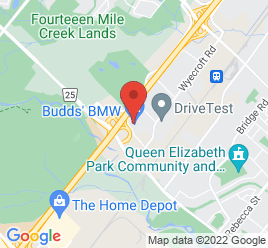 Google Map of 2454+South+Service+Rd+West%2COakville%2COntario+L6L+5M9